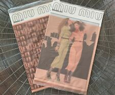 ~RARE~New MIU MIU 2010&2011 Fashion Collection Look Book CATALOG Poster Brochure