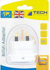 TRAVEL BLUE -  BRITISH ADAPTER by TECH