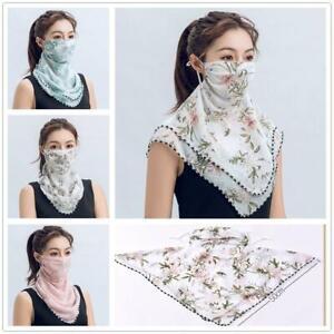 Face Mask Covering Breathable, Washable, Chiffon Neck Gaiter UK Stock. LOT