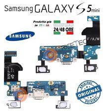 Samsung Galaxy S5 MINI G800F Ricambio FLAT Flex Connettore Ricarica + Mic.