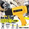 2000W 220V Handheld Hot Air Gun Tool Electric Hot Air Heater 4 Nozzles EU