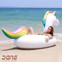 Giant Pool Floats Flamingo Unicorn Swimming Ring Inflatable Pool Float Kid Toys