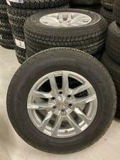 Chevrolet Silverado wheels and tires Goodyear Wrangler 265/65R18