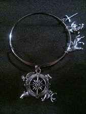 Game of Thrones Themed Expandable Wire Bangle Braclelet w/ Bag