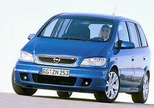 Vauxhall-Opel Zafira A Photo Collection 1999-2005 inc GSi Turbo, OPC, Elegance