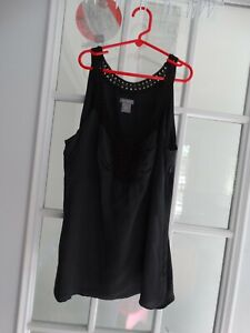 Ann Taylor Size 6 Tank Top Pre-owned Shell 100% Silk