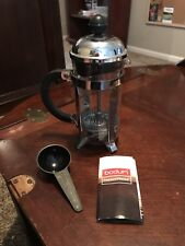 Bodum Chambord Classic French Press Coffee Makers Chrome 10 Oz