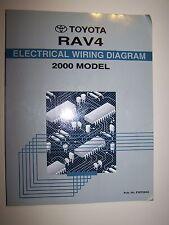 2000 Toyota RAV4 Factory Service Repair Manual Electrical Wiring Diagram