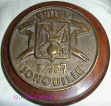 TB467 - TAPE DE BOUCHE - PATROUILLEUR GENDARMERIE MARITIME JONQUILLE