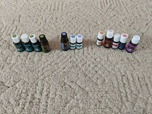 Essential Oils - Lot - Young Living doTerra Rosemary Peppermint and more