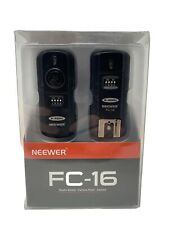 NEEWER FC-16 MULTI-CHANNEL 2.4GHZ FLASH TRIGGER & REMOTE SHUTTER FOR NIKON