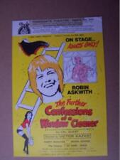Robin Askwith    6  x 8.5  inch  Autograph (rad) see full listing