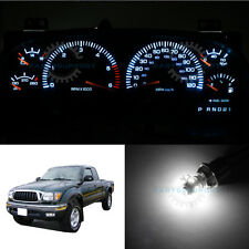 White Dashboard Speedometer Instrument Cluster LED Light Bulbs for 95-04 Tacoma