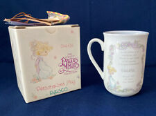 "Enesco Precious Moments Collection 1990 Personalized ""Cheryl"" Name Mug Cup Gift"