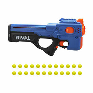 Nerf Rival Charger MXX-1200 Motorized Blaster, 24 Nerf Rival Rounds, Team Blue