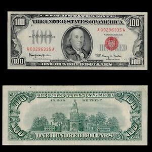 SC 1966 $100 Fr.1550 Red Seal ***GORGEOUS GRADE***