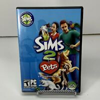 Sims 2: Pets (PC, 2006) -Used, Very Good