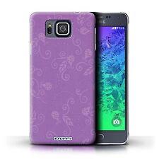 STUFF4 Back Case/Cover/Skin for Samsung Galaxy Alpha/Ladybug Pattern