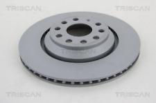 2x Bremsscheibe TRISCAN 8120291002C hinten für AUDI SEAT SKODA VW
