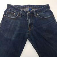 JOOP! ROOK Mens Jeans W32 L32 Dark Blue Regular Fit Straight Mid Rise