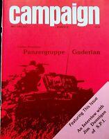 "Vintage ""Campaign"" #79 Magazine 1977 Game Analysis Panzergruppe Guderian"