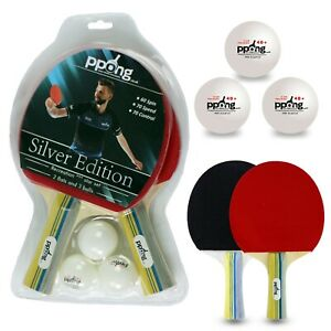 Table Tennis Bat PPong Ping Pong bat set Post Fast & free from UK Today