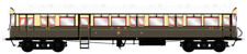 More details for autocoach gwr lined choc/cream 40 (dcc-fitted)