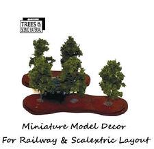 5 x Orchard Model Tree Train Railway & Slot Cars Scenery Miniature Deco Layout
