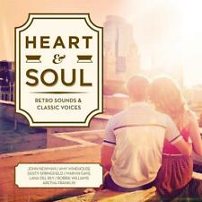 HEART & SOUL : RETRO SOUNDS & CLASSIC VOICES - V/A 3CDs (NEW/SEALED) Marvin Gaye