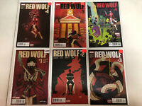Red Wolf (2016) #1 2 3 4 1-4 (VF/NM) Complete Set Dalibor Talajic art Marvel