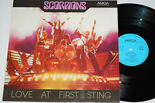 SCORPIONS -Love At First Sting- LP Amiga (8 56 332)