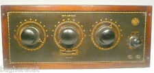 vintage * KING QUALITY RADIO 5 tube capacity: UNTESTED CHASSIS w BAKELITE KNOBS