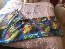 Teenage Mutant Ninja Turtles Single Bedspread And Pillow Case
