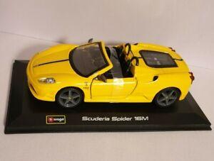Burago 1/32 Ferrari Scuderia Spider 16M Preowned Diecast Model