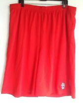 MLB Basketball Shorts XXL St. Louis Cardinals Two Pockets