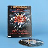 Slayer - Lamb of God - Mastodon - The Unholy Alliance DVD - GUARANTEED