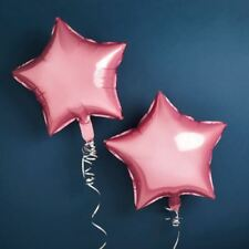 LARGE PINK BALLOON STARS 600mm 24 INCHES 2 PACK PARTY BABY SHOWER BOY WEDDING
