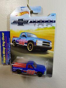 Hot Wheels 2018 Walmart Excl. CHEVRLET Truck 100 Years Chevy 1500 6/8  B5