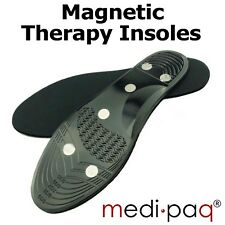 MAGNETIC Therapy INSOLES - GEL Arch Metatarsal Heel Pain Ache Relief Support