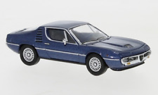 Brekina PCX870075 Alfa Romeo Montreal metallic dunkelblau, 1970, H0, Neu 2021