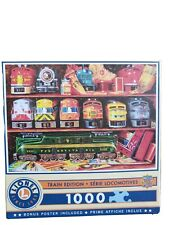 "Masterpieces LIONEL TRAIN ""Well Stocked Shelves"" 1,000 piece jigsaw puzzle NEW"