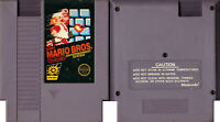 Original Super Mario Bros (5-Screw) - Nintendo NES - Tested - Cart Only