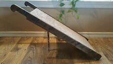 "48"" Wood EXTRA WIDE Heavy Duty Pet Ramp / WALNUT / Dog Cat / STRONG / Steps"