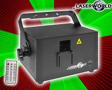 """LASERWORLD """"PRO-800RGB"""" ILDA DMX RGB 3D Vollfarb Laser! Analog! Fernbedienung!"""