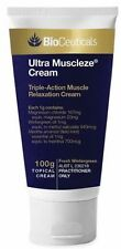 100g Bioceuticals Ultra Muscleze Pain Relief Cream Muscle Relaxant - Natural
