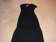 New DKNY holiday season dress L jurk black nwt woman's cocktail gala ball gown