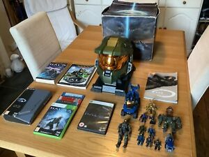 Halo 3 Legendary Edition Master Chief Helmet Plus Many Other Halo Collectibles