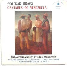 SEALED SOLEDAD BRAVO Cantares De Venezuela LP 1979 Stereo Los Estados Americanos