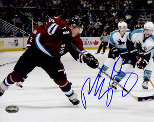Paul Stastny SIGNED 8x10 Photo Colorado Avalanche PSA/DNA AUTOGRAPHED