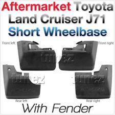 Front Rear Mud Flap Splash Guard For Toyota Land Cruiser J71 J70 SWB Series AT